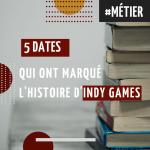 5 dates qui ont marqué l'histoire d'INDY GAMES